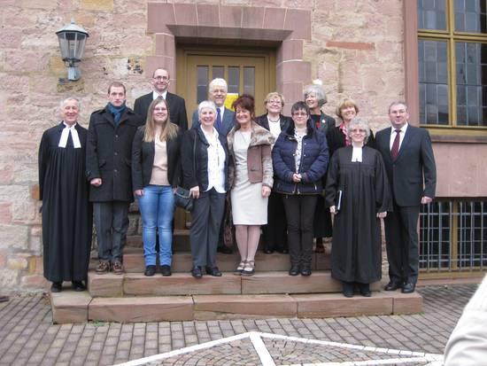 Der Kirchenvorstand zur Einführung 2019