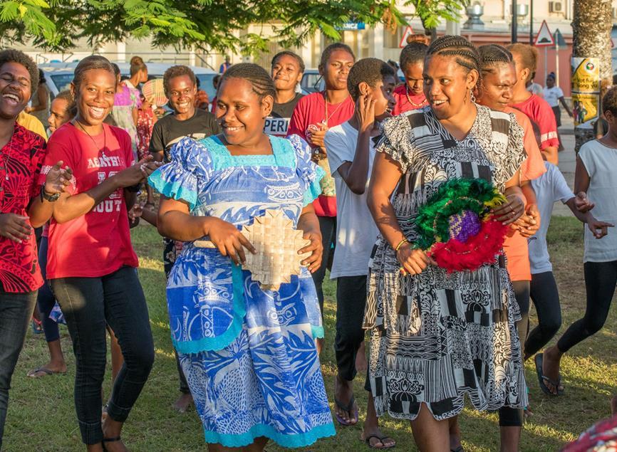 Frauen aus Vanuatu