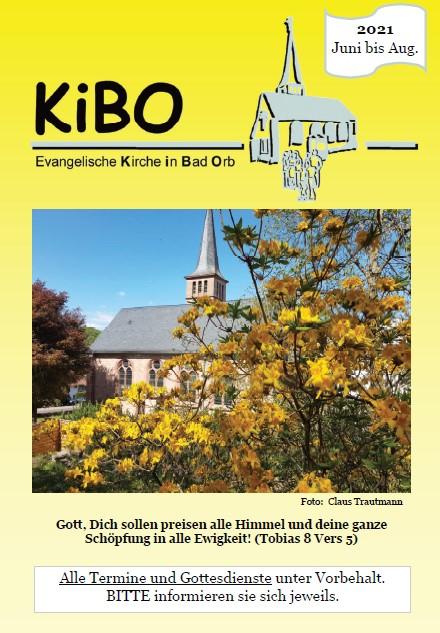 Titelblatt des neuen KiBO